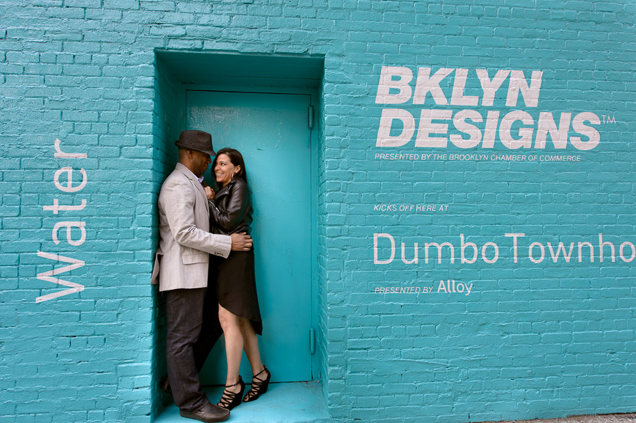 Engagement Session - DUMBO Brooklyn, NYC