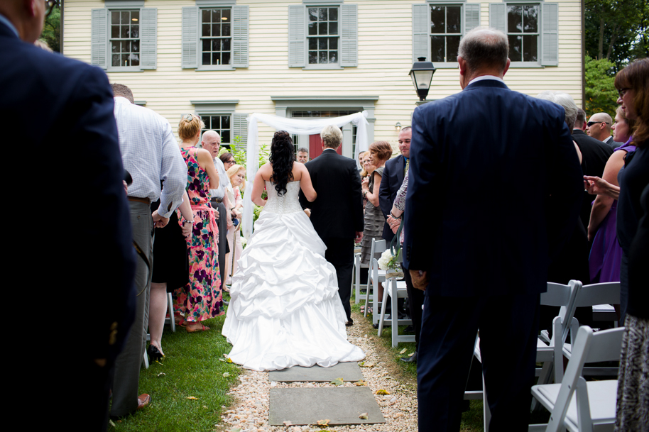photos from a wedding in hope nj