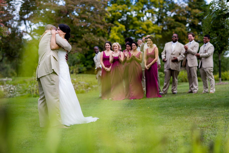 Wedding Photography First Look Upstate NY